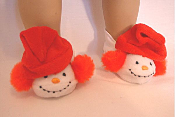 Snowman Slippers /