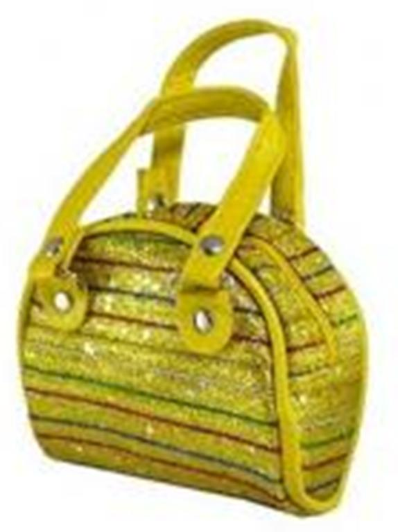OFFER Gold Soft Side Purse