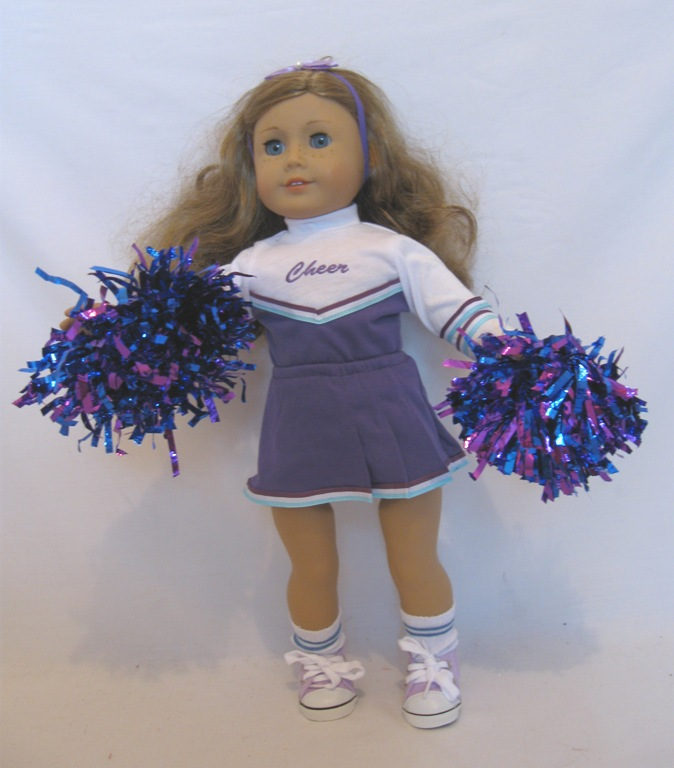 Greatest Cheerleader : Wholesale Doll Clothes-Doll Shoes-Doll Accessories  VR73