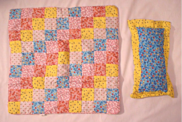 OFFER Square Patchwork Quilt