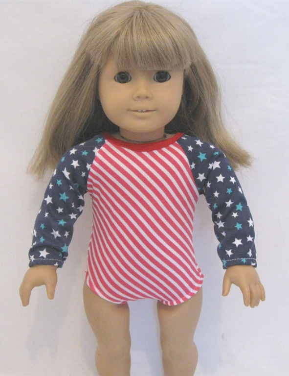 Stars and stripes Gymnastic Leotard