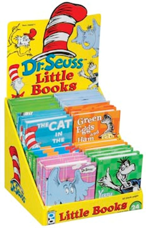 Box of 24 Dr. Suess Notepads