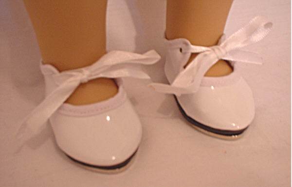 White Tap Dance Shoes
