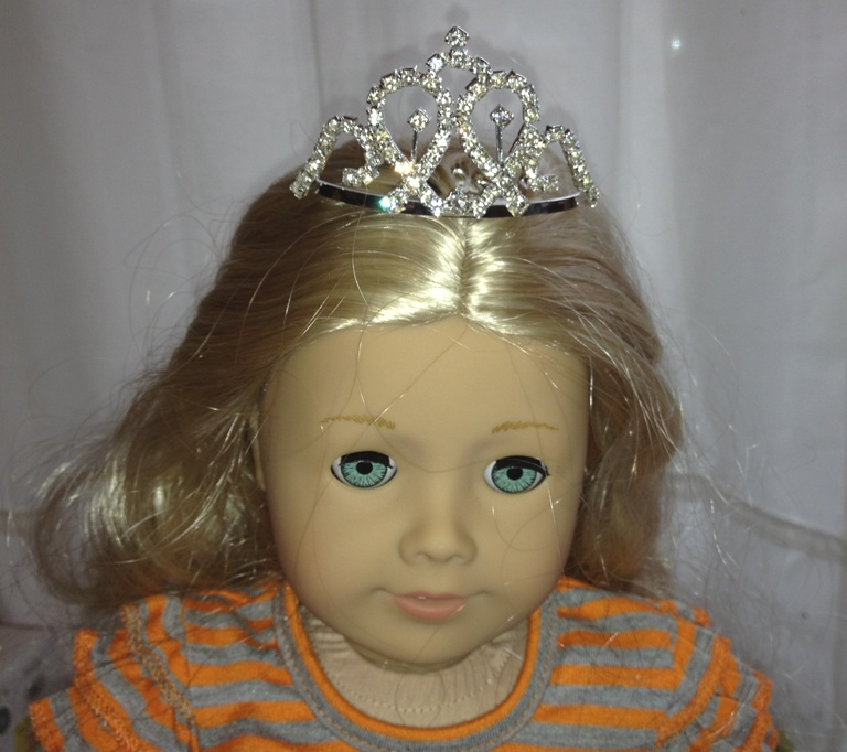 Large Metal Tiara 10