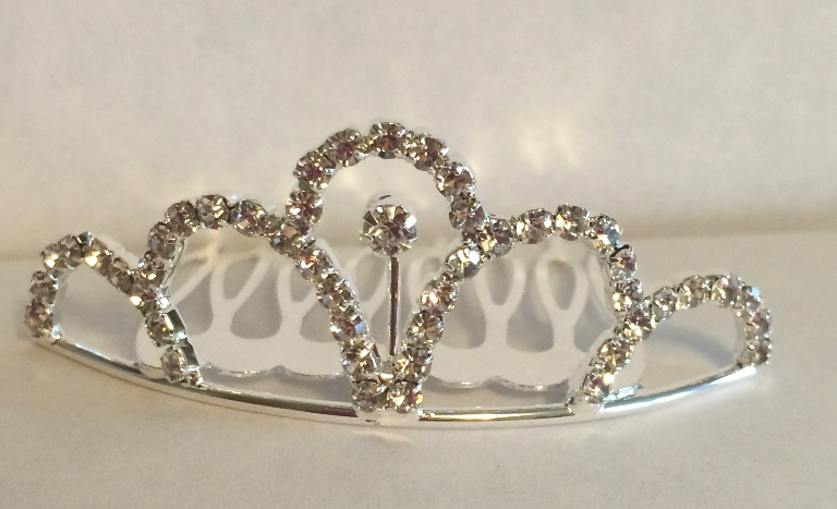 Large Metal Tiara 3