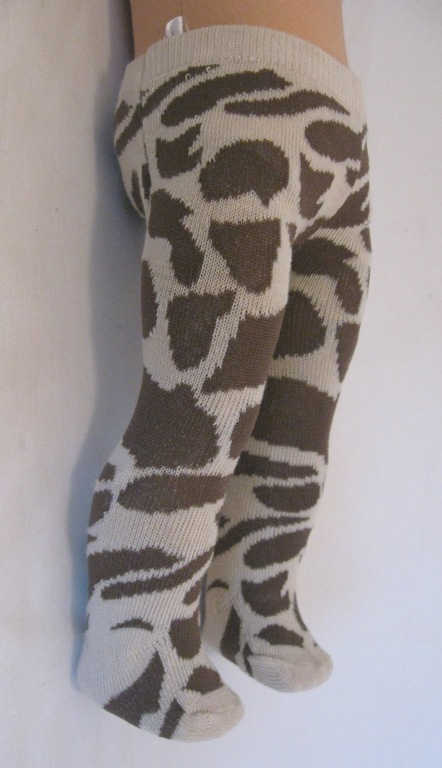 Giraffe Print Tight