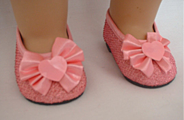 Pink Sparkle Shoes/