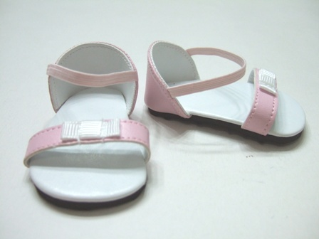 PIink Bow Sandals /