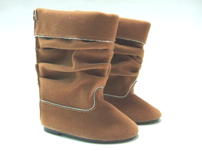 Slouchy Flat Boot /