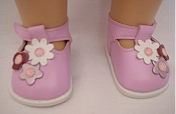 Lavender Flower Shoe/