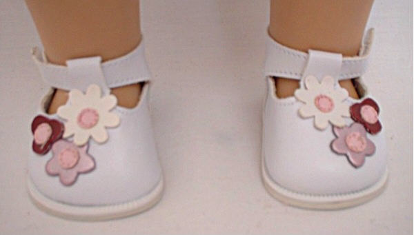 White Flower Shoe/