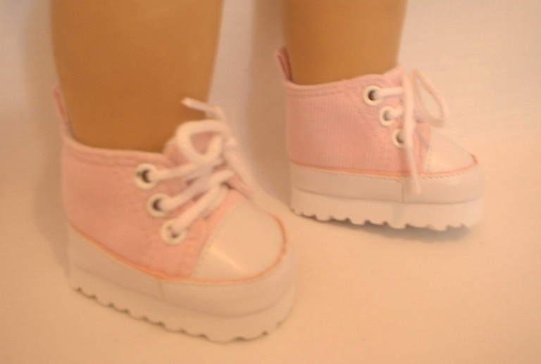 OFFER Pink Cord Tennis Shoe