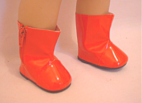Red Colored Rain Boots /