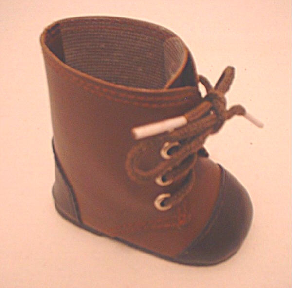 Two Tone Brown Boot /