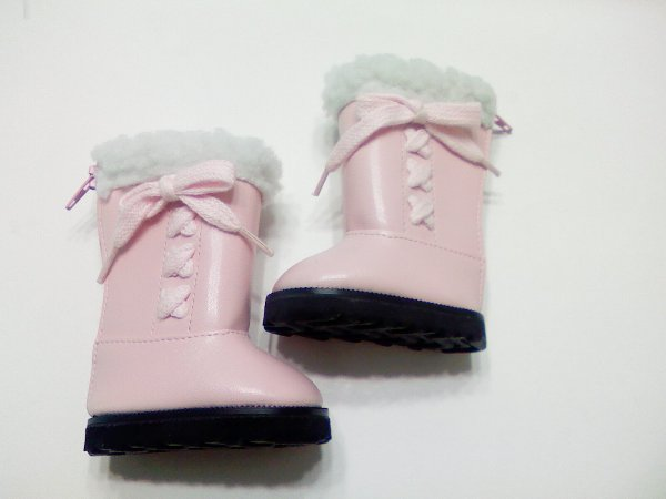 Warm Pink Boots /