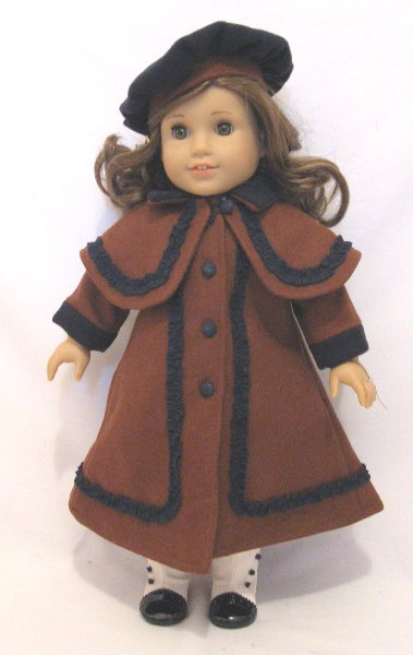 Brown Victorian Coat /