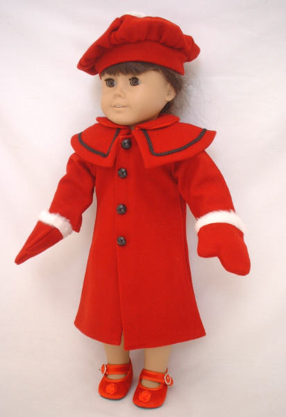 Red Winter Coat /