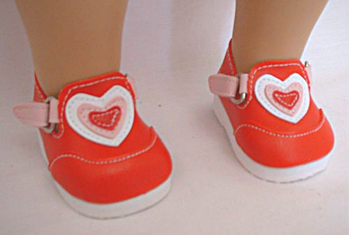 Red Heart Shoes /