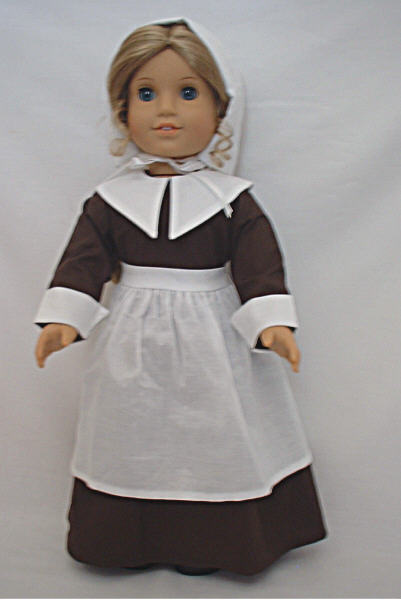 Brown Pilgrim Dress