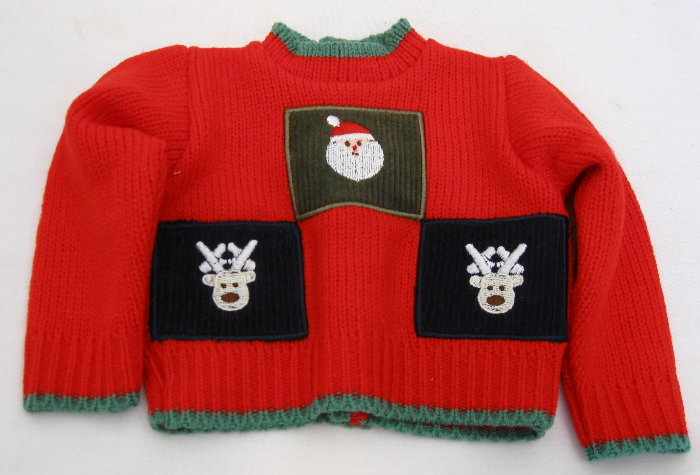 Box Of 100 CHRISTMAS SWEATER