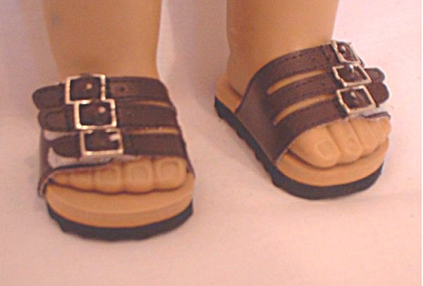 Brown Euro Sandals