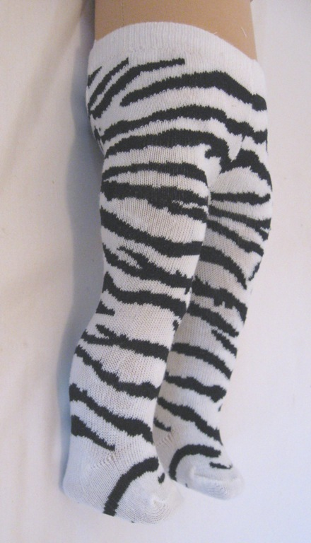 Zebra Tights/
