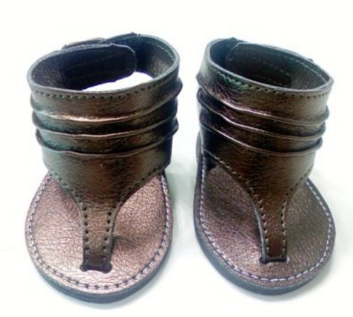 Copper Metallic Sandal