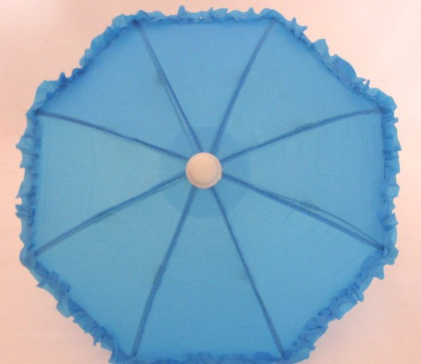Blue Rain Umbrella /