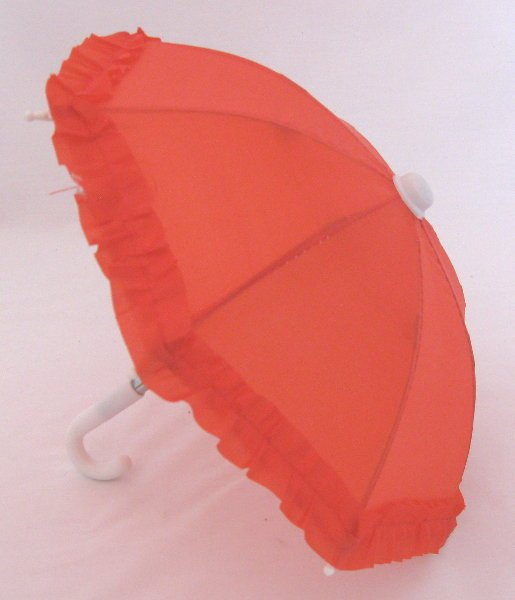 Red Rain Umbrella /