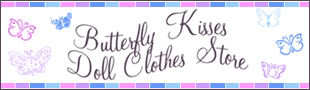 Butterfly Kisses Doll Clothes Store eBay Store
